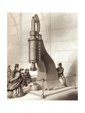 Steam Hammer Giclee Print by Sheila Terry