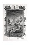 1731 Johann Scheuchzer Noah's Ark Flood Giclee Print by Stewart Stewart