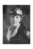 Amelia Earhart, US Aviation Pioneer Giclee Print by Science, Industry and Business Library