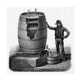 Vinegar Production, 19th Century Giclee Print by CCI Archives