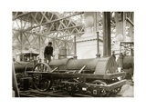 Jervis Locomotive, Museum Display Giclee Print by Miriam and Ira Wallach
