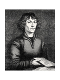 Engraving of Nicolas Copernicus, Polish Astronomer Giclee Print by Jeremy Burgess