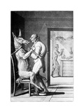 Animal Magnetism, Satirical Artwork Giclee Print by Science Photo Library