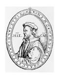 Portrait of Girolamo Cardano Giclee Print by Jeremy Burgess