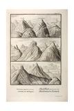 Alpine Geology Flood Evidence Scheuchzer. Giclee Print by Stewart Stewart