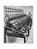 Opera House Lighting Controls, Artwork Giclee Print by CCI Archives