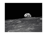 Earth From the Moon Giclee Print by  NASA