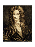 Portrait of Isaac Newton Giclee Print by Jeremy Burgess