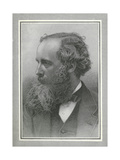 James Clerk Maxwell, Scottish Physicist Giclee Print by Science, Industry and Business Library