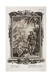 1731 Johann Scheuchzer Hairy Esau Bible Giclee Print by Stewart Stewart