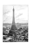 Eiffel Tower, 1889 Universal Exposition Giclee Print by Science Photo Library