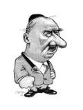 Martin Heidegger, Caricature Giclee Print by Gary Gastrolab
