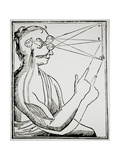 Illustration From De Homine by Rene Descartes Giclee Print by Jeremy Burgess