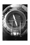 Compressed Air Tunnel Giclee Print by National Physical Laboratory