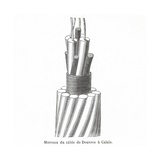 Dover-Calais Telegraph Cable Giclee Print by Science, Industry and Business Library