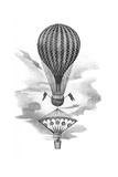 Balloon And Parachute Giclee Print by Science, Industry and Business Library