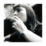 Woman Smoking Giclee Print by  Cristina