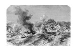 Lisbon Earthquake, 19th Century Artwork Giclee Print by Science Photo Library