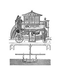 Snowden's Locomotive Machine Giclee Print by Science, Industry and Business Library