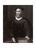 John Knox, Scottish Theologian Giclee Print by Middle Temple Library