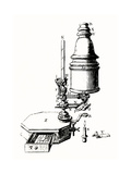 The Marshall Microscope, Historical. Giclee Print by Jeremy Burgess