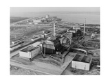 Aerial View of Chernobyl And Its Sarcophagus. Giclee Print by Ria Novosti