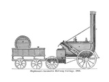 Stephenson's Rocket Giclee Print by Science, Industry and Business Library