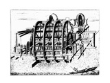 Water Wheel for Pumping Water Giclee Print by Science Photo Library