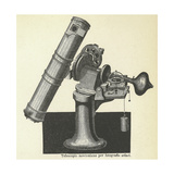 Newtonian Telescope Giclee Print by Science, Industry and Business Library