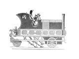 Steam Coach Giclee Print by Science, Industry and Business Library