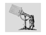 Descartes' 'giant' Microscope, 1637. Giclee Print by Jeremy Burgess