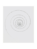 A Single Electron Forms a Spiral Track Giclee Print by Lawrence Berkeley Laboratory