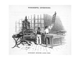 Albion Printing Press Giclee Print by Science, Industry and Business Library