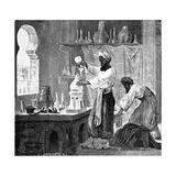 Science Photo Library - Rhazes, Islamic Scholar Digitálně vytištěná reprodukce