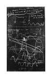 Alvarez's Calculations Giclee Print by Lawrence Berkeley National Laboratory