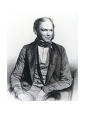 Lithograph of Charles Darwin Aged 40 Giclee Print by National Library of Medicine