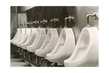 Urinals Giclee Print by Alan Sirulnikoff