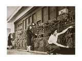 ENIAC, the Second Electronic Calculator Giclee Print by Los Alamos National Laboratory