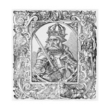 Frederick I Barbarossa Holy Roman Emperor Giclee Print by Middle Temple Library