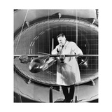 Oleg Antonov, Soviet Aircraft Designer Giclee Print by Ria Novosti