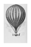 Royal Vauxhall Balloon Giclee Print by Science, Industry and Business Library