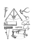 Scientific Equipment, Historical Artwork Giclee Print by Mehau Kulyk