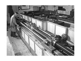 Standard Lathe Giclee Print by National Physical Laboratory