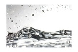 Water, High-speed Photograph Giclee Print by  Crown