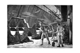 Ship Heating Room, 19th Century Giclee Print by Science Photo Library