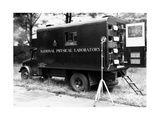 Mobile Acoustics Laboratory, 1940s Giclee Print by National Physical Laboratory