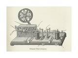 Morse's Telegraph Receiver Giclee Print by Science, Industry and Business Library