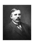 The New Zealand Born Physicist Sir E. Rutherford Giclee Print by Peter Fowler