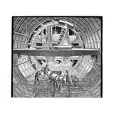 Tunnel Construction, 19th Century Lámina giclée por Science Photo Library