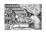 Medical Purging, Satirical Artwork Giclee Print by Science Photo Library